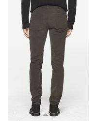Rag & Bone - Gray Race Drainpipe Trouser for Men - Lyst