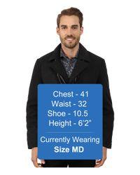 Perry Ellis - Gray Wool Carocat W/ Scarf for Men - Lyst