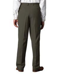 Lauren by Ralph Lauren | Green Wool-cashmere-blend Cuffed Pants for Men | Lyst