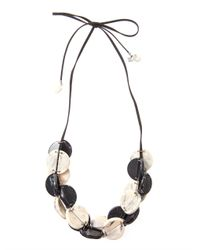 Weekend by Maxmara | Black Caprera Necklace | Lyst