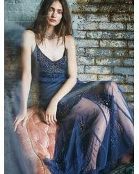 Free People - Blue Azealia Dress - Lyst