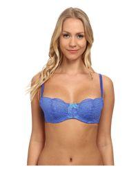 B.tempt'd - Blue Ciao Bella Balconette Bra 953144 - Lyst
