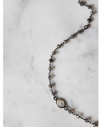 Free People | Metallic Libi Stone Choker | Lyst