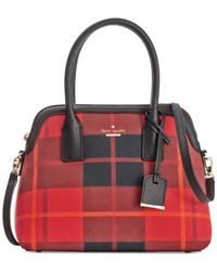 kate spade new york | Red Cameron Street Fabric Maise Satchel | Lyst