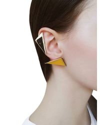 Sylvio Giardina - Yellow S-k-i-n Kit Earring Set - Lyst