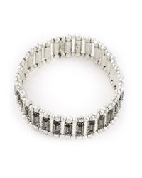 Philippe Audibert | Gray 'titia' Bracelet | Lyst