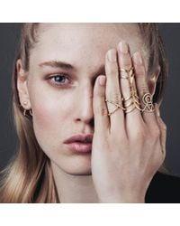 Smith/grey | Metallic Louise Ring Gold | Lyst