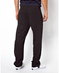 ASOS | Black Sweatpants in Tailored Fit By Tim Labenda for Men | Lyst