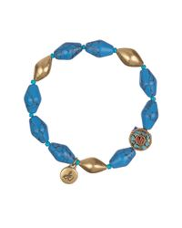 Sam Edelman | Blue Wild Child Stretch Bracelet | Lyst