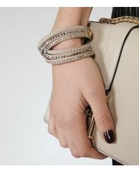 Reiss | Metallic Kalina Bracelet With Crystals From Swarovski | Lyst