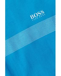 BOSS Green | Blue Cotton T-shirt 'tee 3' for Men | Lyst