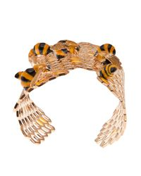 Delfina Delettrez - Metallic To Bee Or Not To Be Bracelet - Lyst