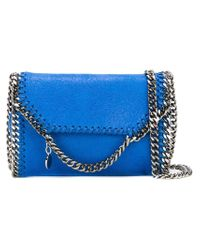 Stella McCartney - Blue 'falabella' Crossbody Bag - Lyst