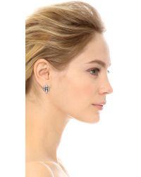 DANNIJO - Metallic Talia Earrings - Lyst