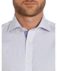 Ted Baker | Purple Monto Slim Fit Formal Shirt for Men | Lyst