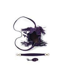 Ralph Lauren | Purple Small Ricky Drawstring Bag | Lyst