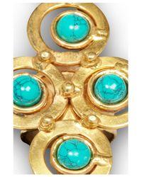 Sylvia Toledano | Blue Turquoise Cross Ring | Lyst