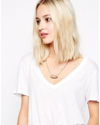 Tatty Devine - Brown Hot Dog Necklace - Lyst