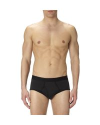 Sunspel - Black Men's Superfine Cotton Brief for Men - Lyst