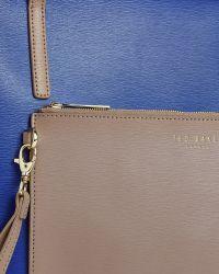 Ted Baker | Blue Colour Block Leather Shopper Bag | Lyst