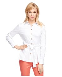 Brooks Brothers | White Cotton Shirt | Lyst