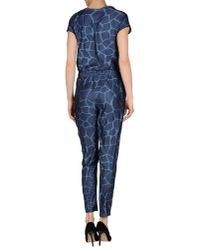 Adidas Originals - Blue Jumpsuit - Lyst