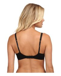 On Gossamer - Black Beautifully Basic Shadow Stripe Spacer Cup Demi - Lyst