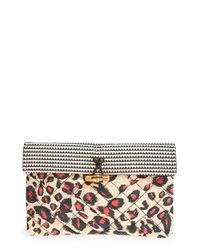 Maison Scotch - Pink Quilted Clutch - Lyst