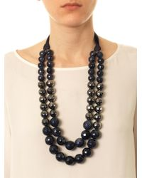 Weekend by Maxmara - Blue Lugano Necklace - Lyst