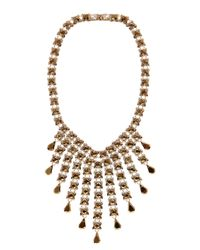 Coast - Metallic Schona Necklace - Lyst