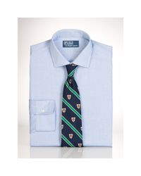 Polo Ralph Lauren | Blue Slim-fit Estate Dress Shirt for Men | Lyst