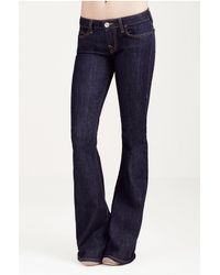 True Religion | Blue Disco Mid-rise Bootcut Jeans | Lyst