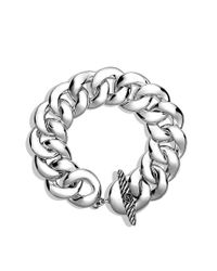 David Yurman | Metallic Curb Link Bracelet | Lyst