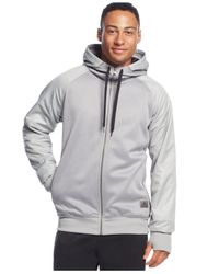 Adidas Originals | Natural Men's Black Ice Full-zip Hoodie for Men | Lyst