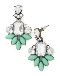Ana Accessories Inc | Green Deco Darling Earrings | Lyst