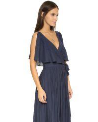 Free People | Blue Fiona's Sleeveless Maxi Dress | Lyst