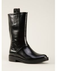 Alexander Wang - Black Pull On Boots - Lyst