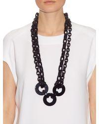 'S Max Mara - Black Siberia Necklace - Lyst