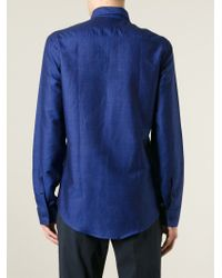 KENZO - Blue 'eye' Shirt for Men - Lyst