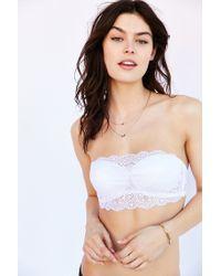 Cosabella - White Thea Bandeau Bra - Lyst