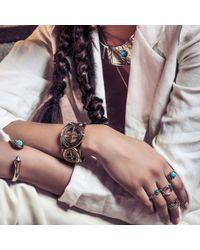 Pamela Love   Metallic Frida Breastplate In Brass   Lyst