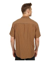 Tommy Bahama | Orange New Gregory Check S/s for Men | Lyst