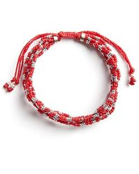 Wakami - Life Is What You Make Of It: 7 Strand (red) - Lyst
