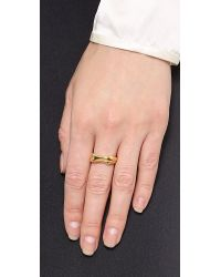 Aurelie Bidermann | Metallic Body Ring | Lyst