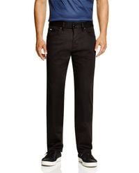 BOSS - Black Boss Maine Techo Regular Fit Pants for Men - Lyst