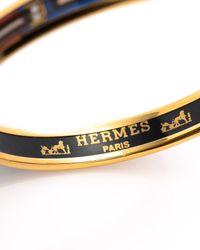 Hermès - Metallic HermãˆS Bangle - Lyst