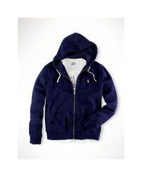 Polo Ralph Lauren | Blue Classic Fleece Hoodie for Men | Lyst