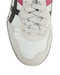 Asics | Gray Serrano Lace-up Sneakers | Lyst