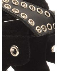 Isabel Marant | Black Edris Studded Suede Sandals | Lyst