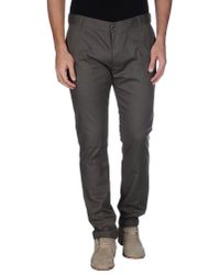 John Galliano - Gray Casual Pants for Men - Lyst